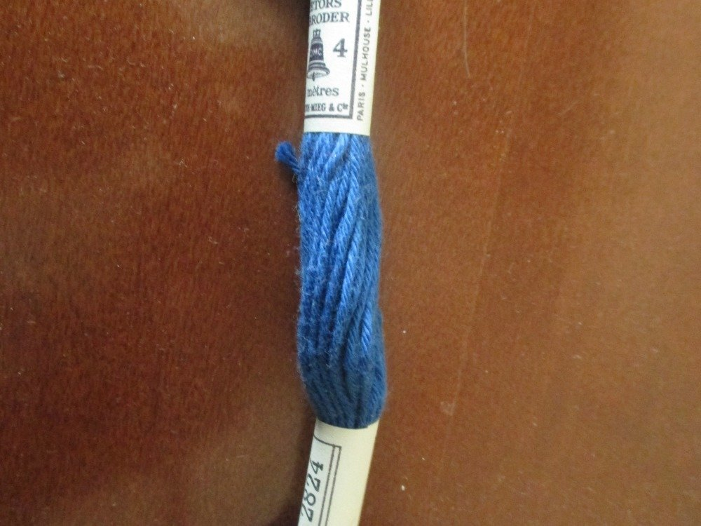 échevette coton canevas DMC n° 2824