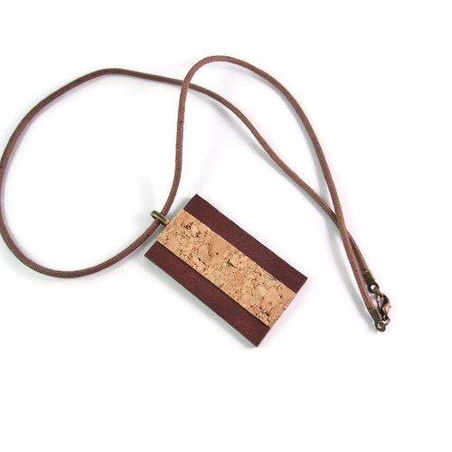 collier de cuir pour homme