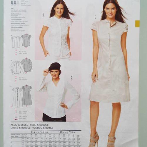 Patron robe taille 34