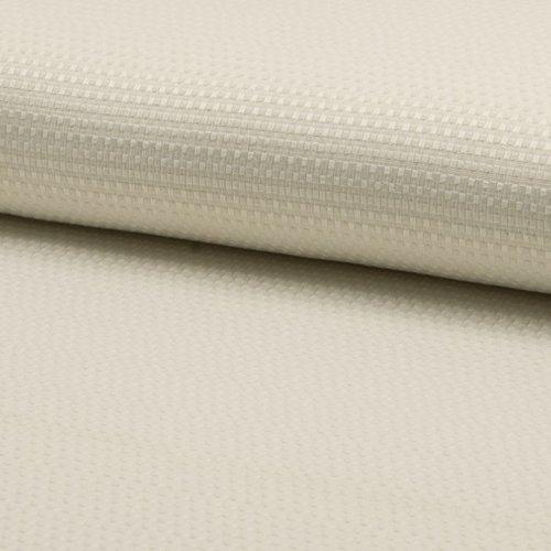 Tissu habillement - 55 % coton 45 % polyester - ivoire - largeur 1m40