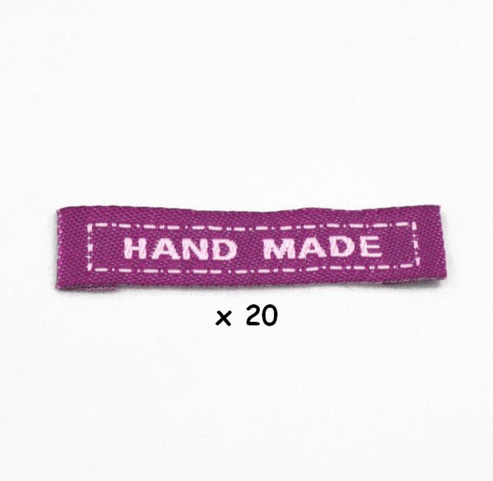 Étiquettes à coudre HANDMADE