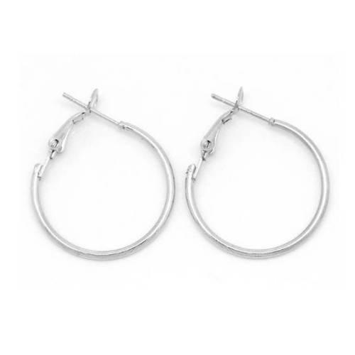 support boucle d'oreille anneau