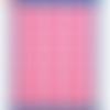 Planche de 28 étiquettes adhésives rondes de couleur rose - diamètre 15 mm
