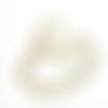 Bague réglable en acier inoxydable doré or avec chat demi lune et anneau