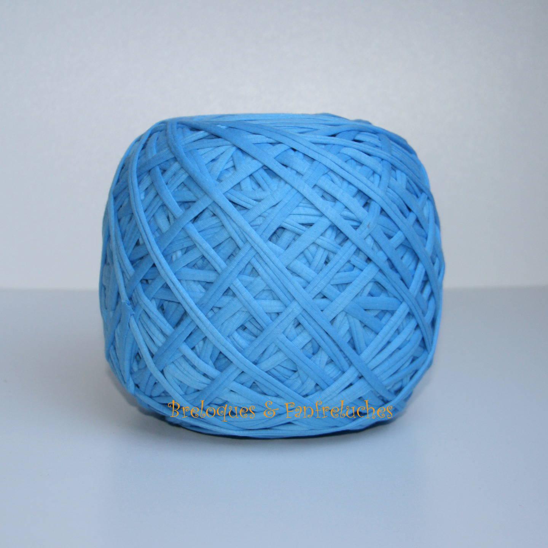 Trapilho - Uni, Bleu Ciel  - Pelote de 600 gr