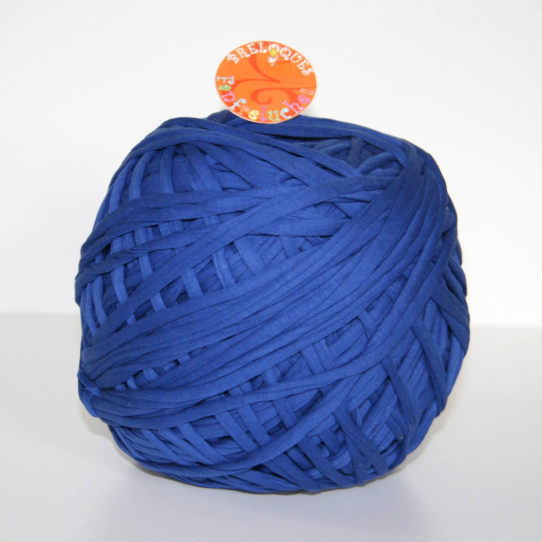 Trapilho - Uni, Bleu Roi (Coton) - Pelote de 850 gr
