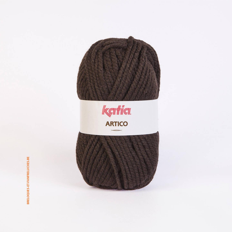 Fil Katia - Artico - Couleur 9 (Chocolat)