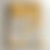 11 protège carnet de santé thème petites chouette jaunes  à personnaliser