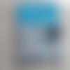 11 protège carnet de santé thème petites chouettes bleues  à personnaliser