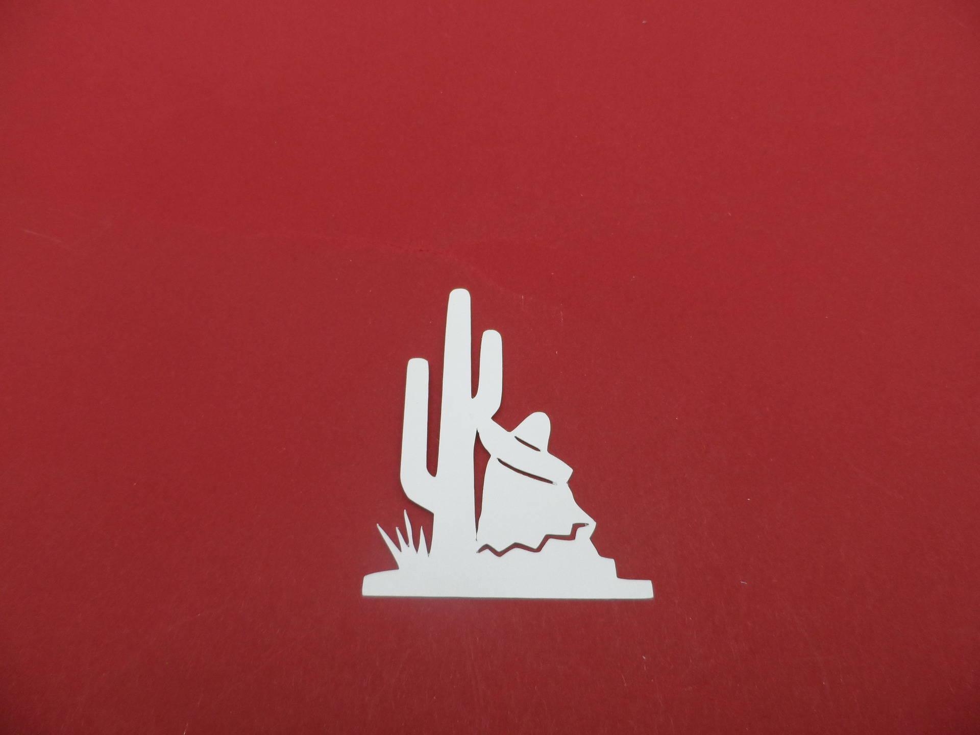 n°332 découpe thème du Mexique  en papier blanc  découpage fin