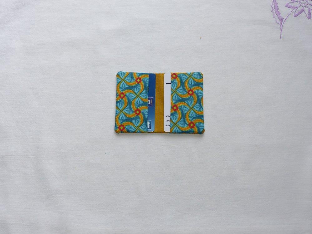 Porte-cartes deux cartes, porte-cartes pratique