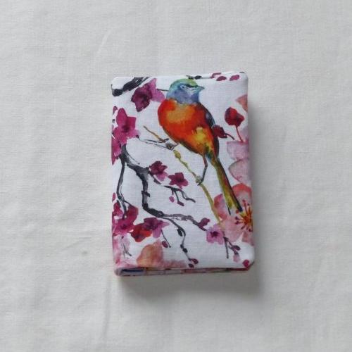 Porte-cartes deux cartes en tissu japonais