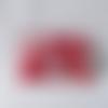 Porte-monnaie en tissu japonais, doublé, motif cerisier japonais