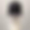 """Casquette noire brodé """"je suis vacciné"""""""