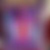 Pochette à bandoulière violette 1