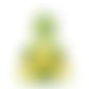 Peluche dinosaure brodée, cadeau personnalisé doudou bébé naissance