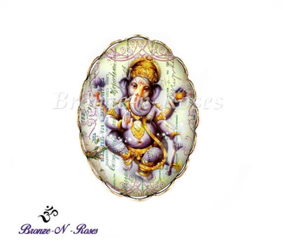 """Marque-pages """" Ganesh """" Bijou fantaisie bronze inde"""