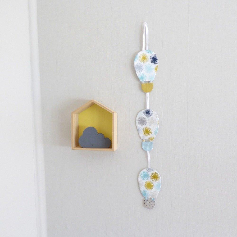 Suspension Montgolfières _décoration chambre bébé/enfant