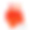 Confettis renards - corail orange