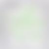 Confettis montgolfières vert clair, nuages blancs et étoiles couleur au choix