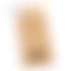 Sachets kraft - guirlande home - 7 x 12 cm