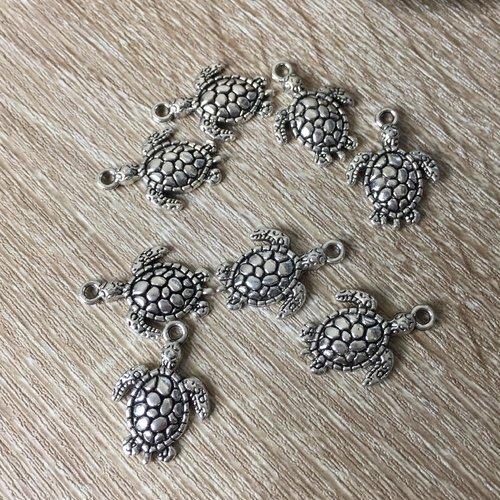 5 breloques tortue