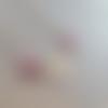 Collier art déco sheeloh, cabochons agate fuchsia