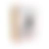Peluche chaussette zèbre - kit à coudre