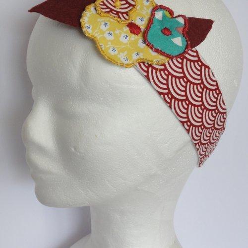 Bandeau fleurs de nenuphares