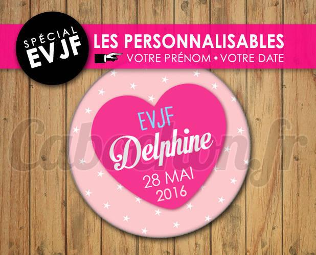 EVJF Les Personnalisables ☆ Images Digitales à personnaliser pour les EVJF - 016