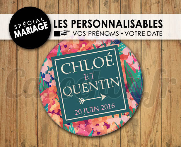 MARIAGE Les Personnalisables ☆ Images Digitales à personnaliser pour les MARIAGES - 005