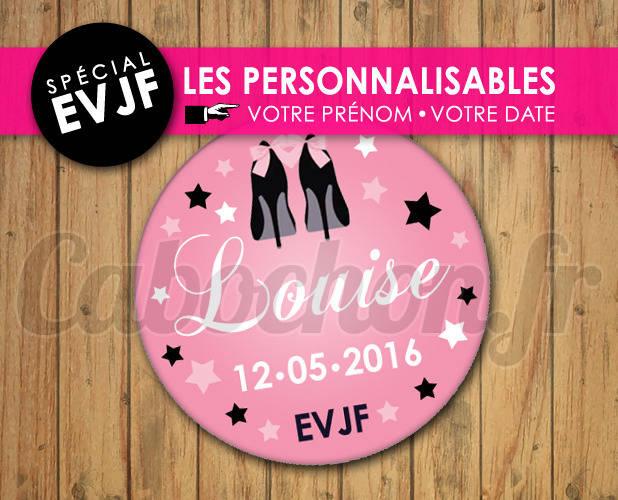 EVJF Les Personnalisables ☆ Images Digitales à personnaliser pour les EVJF - 013
