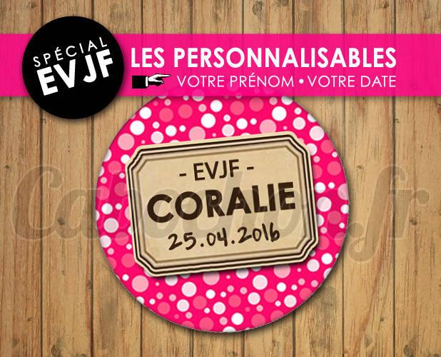 EVJF Les Personnalisables ☆ Images Digitales à personnaliser pour les EVJF - 008