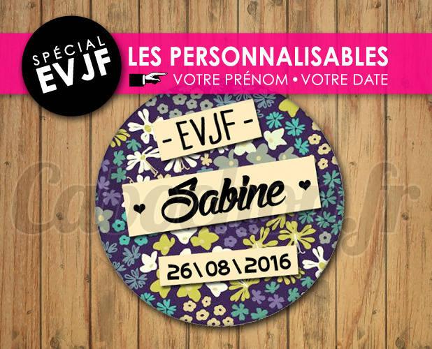 EVJF Les Personnalisables ☆ Images Digitales à personnaliser pour les EVJF - 004