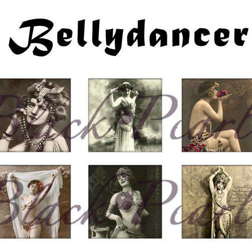 °bellydancer° - page de collage cabochons - 15 images