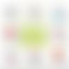 Badge épingle auxiliaire de puériculture - 50 mm - idée de cadeau auxiliaire de puériculture - choix de l'image