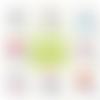 Magnet auxiliaire de puériculture - 50 mm - idée de cadeau auxiliaire de puériculture - choix de l'image