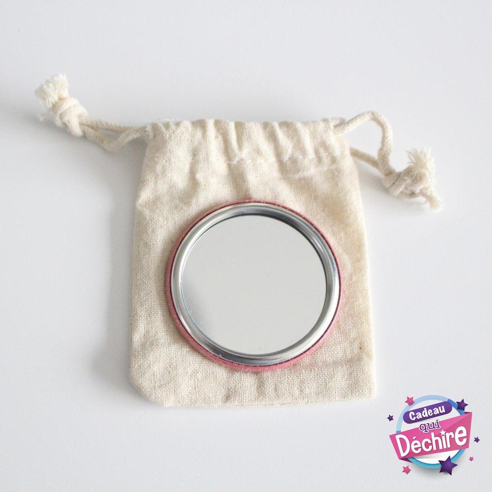 Miroir de poche nounou - 50 mm - idée cadeau nounou - Choix de l'image