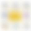 Miroir de poche orthophoniste - 50 mm - idée cadeau orthophoniste - choix de l'image