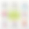 Miroir de poche auxiliaire de puéricultrice - 50 mm - idée cadeau auxiliaire de puéricultrice - choix de l'image