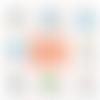 Porte-clé décapsuleur beau-père - 50 mm - cadeau beau-père - cadeau anniversaire - choix de l'image