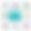 Miroir de poche filleule - 50 mm - cadeau filleule - cadeau anniversaire - choix de l'image
