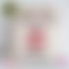 Hotte de noël personnalisée - hotte du père noël 32x40 cm - baluchon - sac de noël personnalisable