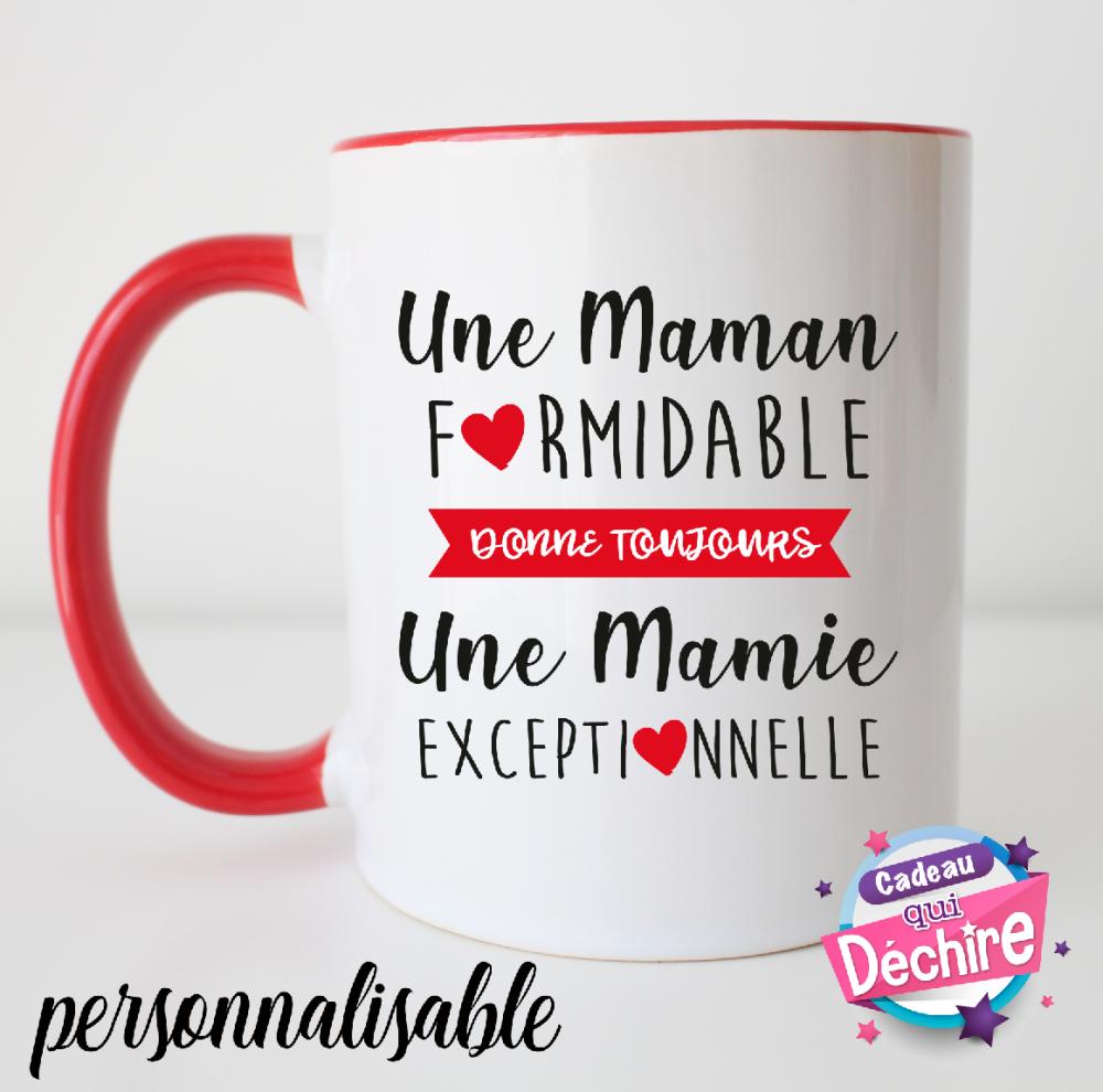 Mug céramique - idée de cadeau fête des mères - mug personnalisable