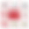 Magnet saint valentin - 50 mm - cadeau st valentin - cadeau je t'aime - choix de l'image