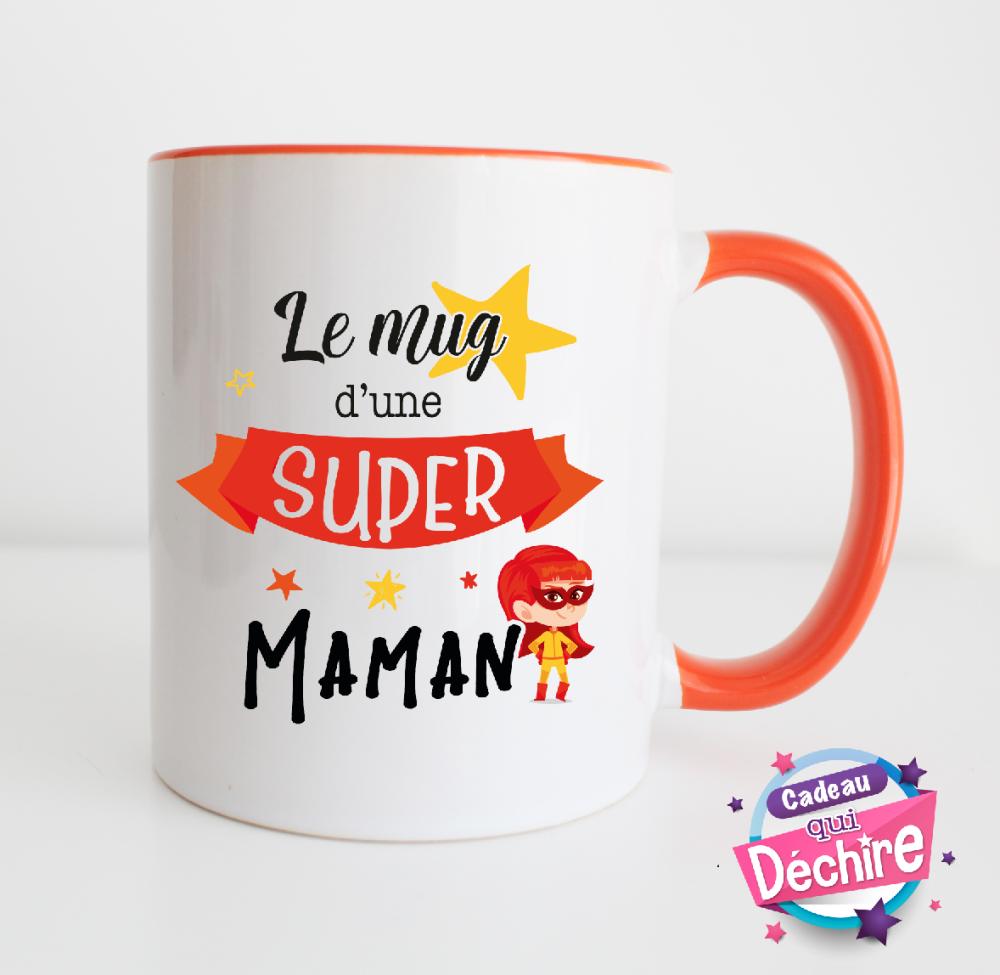 Mug maman - idée cadeau fête des mères - cadeau maman