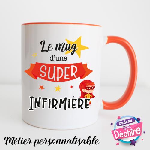 Idée Cadeau InfirmièRe Mug infirmière   idée cadeau remerciement   cadeau infirmière