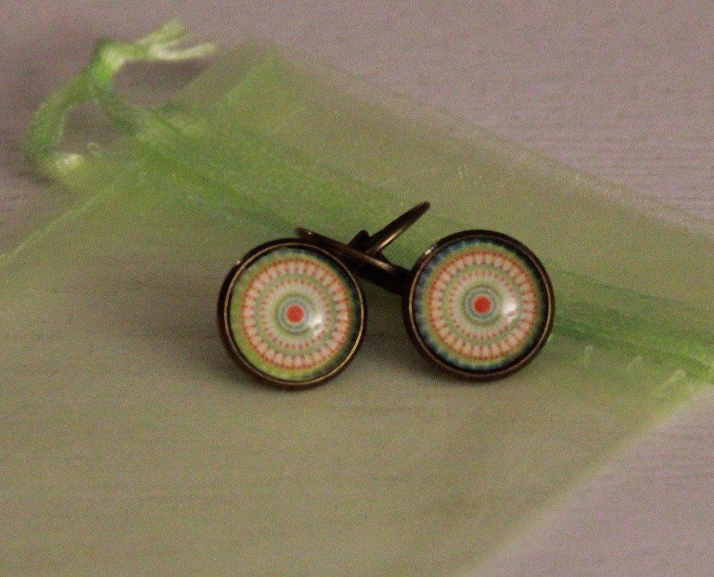 """Boucles d'oreilles """"spirale"""""""