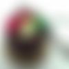 Muffin au chocolat et fruits acidulés