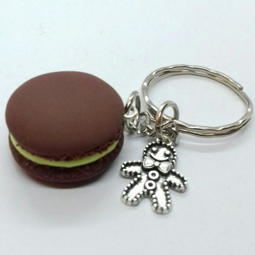 Macaron chocolat pistache
